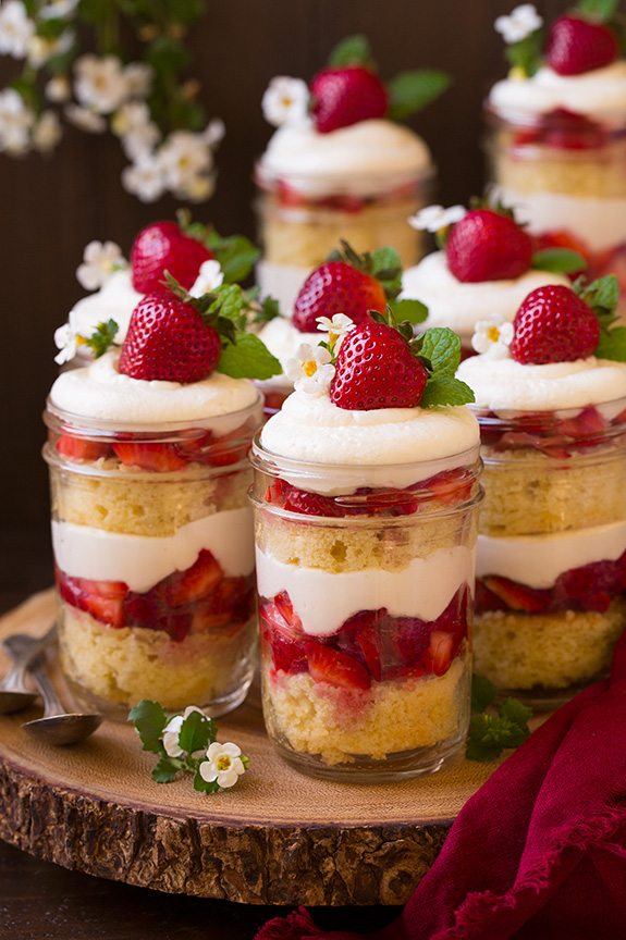 We've found 15 of the Best Unique Strawberry Shortcake Recipes that will help you take this classic dessert to the next level for your family and friends. These interesting versions of Strawberry Shortcake are such great Summer desserts ideas. Pin these yummy treats for later and follow us for more great food ideas.
