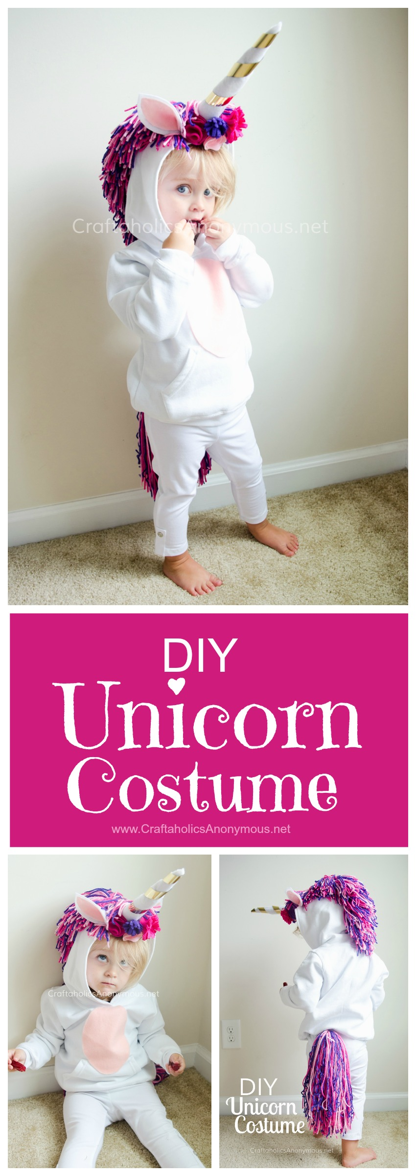 We've found 15 of the Best DIY Halloween Costumes for Kids that would be easy for you to make and your kids will look great Trick or Treating in them on Halloween. You are going to have a hard time deciding which of these Homemade Halloween Costumes to make. Pin these easy to make Kid's Halloween Costume Ideas for later and follow us for more Halloween Costume Ideas.